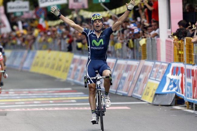 Вчера. Фьюджи. Франсиско ВЕНТОСО вырывает победу на шестом этапе. Фото AFP
