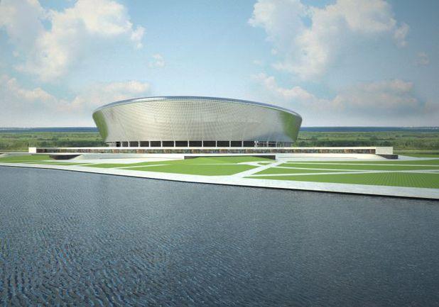 """Проект стадиона в Нижнем Новгороде Фото """"СЭ"""""""