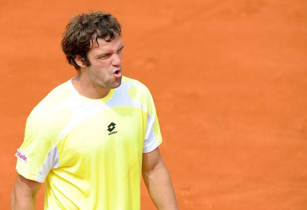 Теймураз ГАБАШВИЛИ проиграл в первом круге Roland Garros Фото AFP