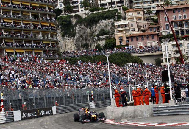 На знаменитой трассе в Монте-Карло использование DRS будет ограничено Фото REUTERS
