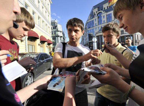 """Понедельник. Москва. Алан ДЗАГОЕВ. Фото Алексея ИВАНОВА, """"СЭ"""" Фото """"СЭ"""""""