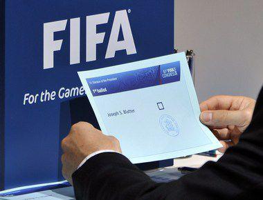 Среда. Цюрих. На выборах президента ФИФА единственный кандидат Зепп Блаттер получил поддержку 186 проголосовавших из 203 Фото AFP