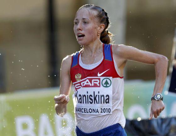 Олимпийская чемпионка и двукратная чемпионка мира Ольга КАНИСЬКИНА. Фото REUTERS