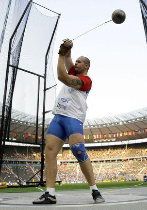 Бронзовый призер ЧМ-2009 в метании молота Алексей ЗАГОРНЫЙ. Фото REUTERS