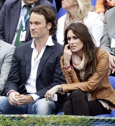 Экс-первая ракетка мира Карлос МОЙЯ и его жена актриса Каролина КЕРЕСУЭЛА. Фото REUTERS