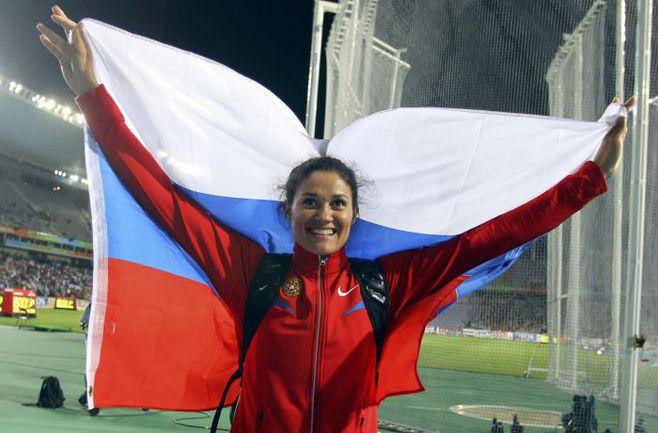 Экс-рекордсменка мира Татьяна ЛЫСЕНКО. Фото REUTERS