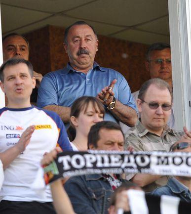 """Президент """"Алании"""" Валерий ГАЗЗАЕВ. Фото Александра ФЕДОРОВА, """"СЭ"""" Фото """"СЭ"""""""