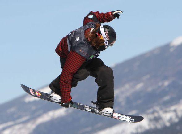 После допуска в олимпийскую программу сноубордического слоупстайла о приезде в Сочи-2014 объявил знаменитый Шон УАЙТ Фото AFP