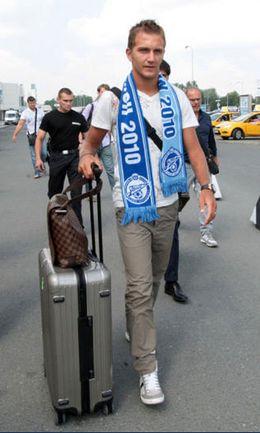 """Пятница. Только что Доменико КРИШИТО прибыл в Санкт-Петербург. Фото Роман КИТАШОВА Фото """"СЭ"""""""