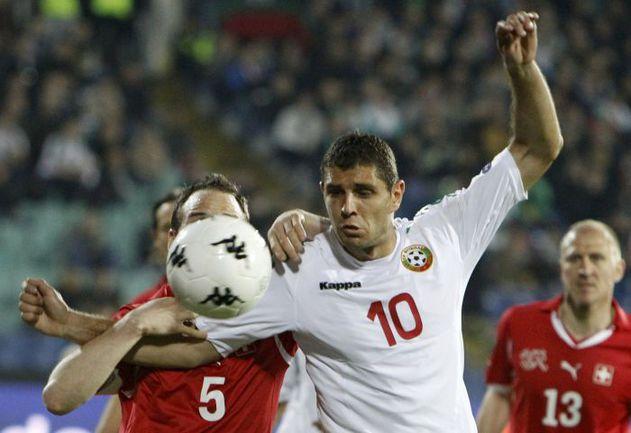 Нападающий сборной Болгарии Димитар МАКРИЕВ. Фото REUTERS