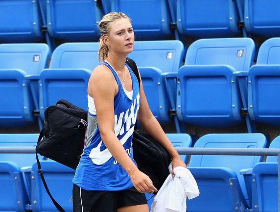 Нью-Йорк. Мария ШАРАПОВА готовится к старту US Open. Фото AFP