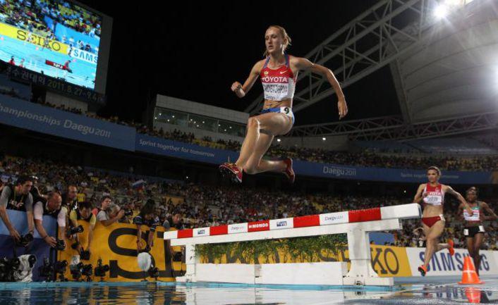 Сегодня. Тэгу. Юлия ЗАРИПОВА в победном для себя забеге. Фото AFP