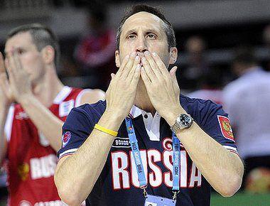 "Четверг. Клайпеда. Грузия - Россия - 58:65. Дэвид БЛАТТ. Фото FIBA-Europe Фото ""СЭ"""