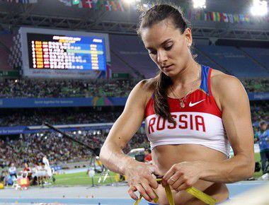 Вторник. Тэгу. Елена ИСИНБАЕВА после поражения. Фото AFP