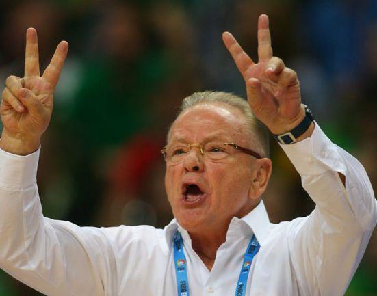 Среда. Вильнюс. Литва - Сербия - 100:90. Душан ИВКОВИЧ. Фото AFP