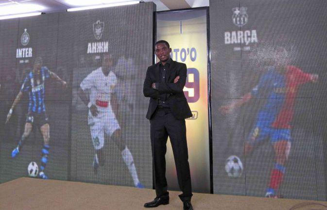 """Самюэль ЭТО'О. """"Реал"""", """"Барселона"""", """"Интер"""", а теперь """"Анжи"""". Фото REUTERS"""