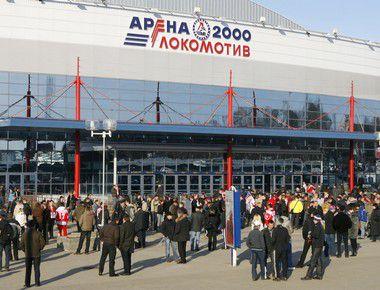 """""""Арена-2000"""" в Ярославле. Фото Алексея ИВАНОВА, """"СЭ"""" Фото """"СЭ"""""""
