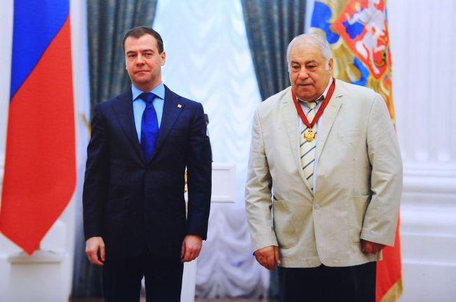 "Дмитрий МЕДВЕДЕВ и Дмитрий МИНДИАШВИЛИ. Фото Александра ОРЕШНИКОВА Фото ""СЭ"""