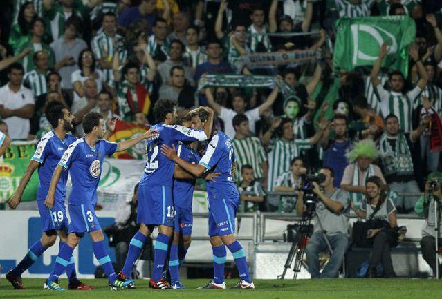 "Вчера. Мадрид. ""Хетафе"" – ""Бетис"" – 1:0. Единственный в матче гол провели хозяева поля Фото «СЭ»"