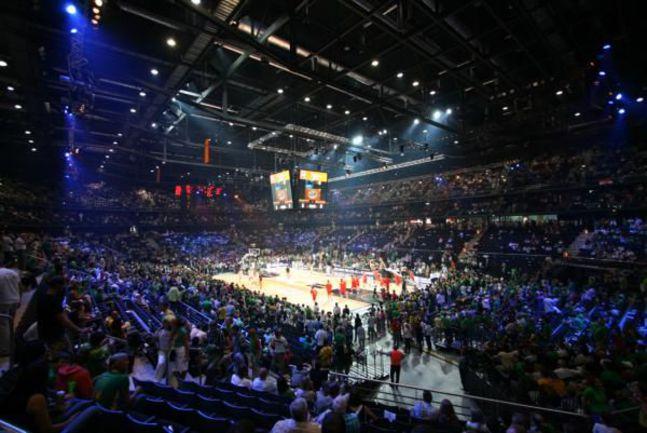 """Почти наверняка именно 15-тысячная """"Жальгирис-Арена"""" примет олимпийскую квалификацию. Фото """"СЭ"""""""
