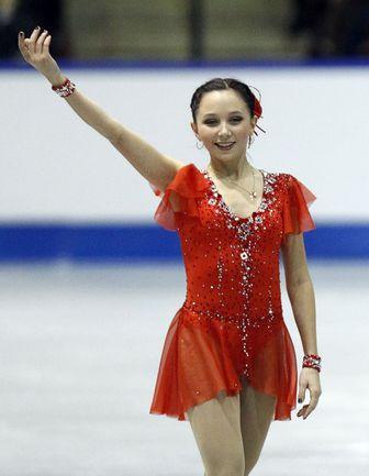 Суббота. Миссисога. Победительница Skate Canada Елизавета ТУКТАМЫШЕВА. Фото REUTERS