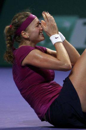 Вчера. Стамбул. Петра КВИТОВА - победительница итогового турнира! Фото REUTERS