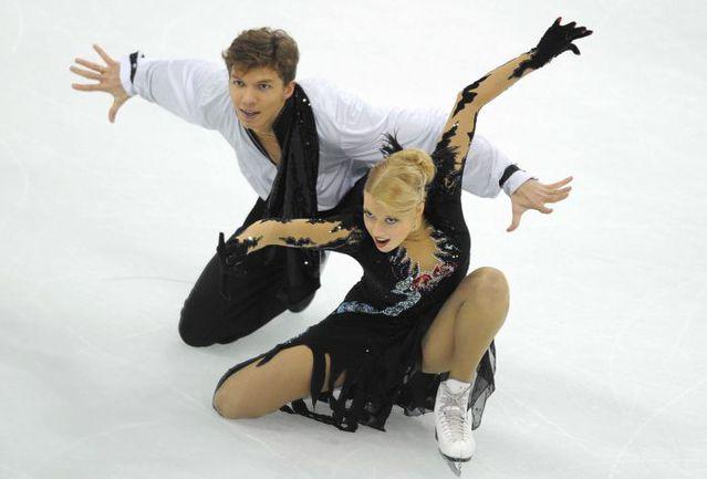 Суббота. Шанхай. Екатерина БОБРОВА и Дмитрий СОЛОВЬЕВ. Фото AFP