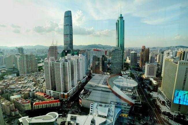 Шэньчжэнь - город суперсовременный. Фото «СЭ»