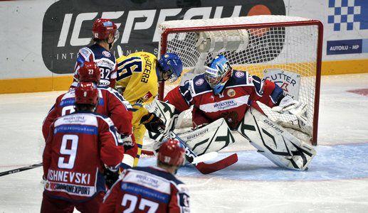 Сегодня. Хельсинки. Швеция - Россия - 1:4. В игре Михаил БИРЮКОВ. Фото AFP