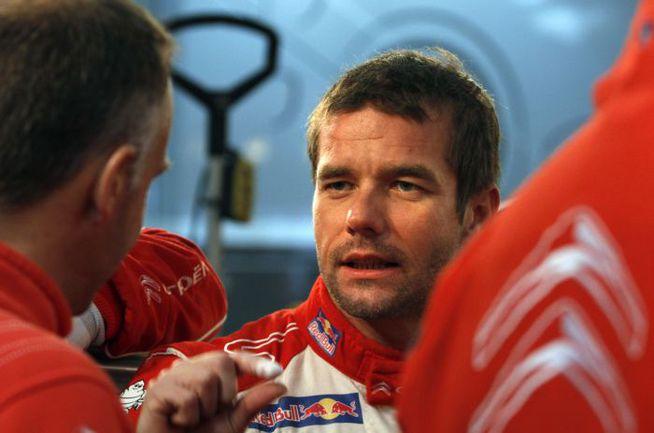 """Для завоевания титула Лоебу могло хватить и второго места - поэтому француз позволил себе большую часть гонки держаться на втором месте следом за одним из пилотов Ford. Фото Citroen. Фото """"СЭ"""""""