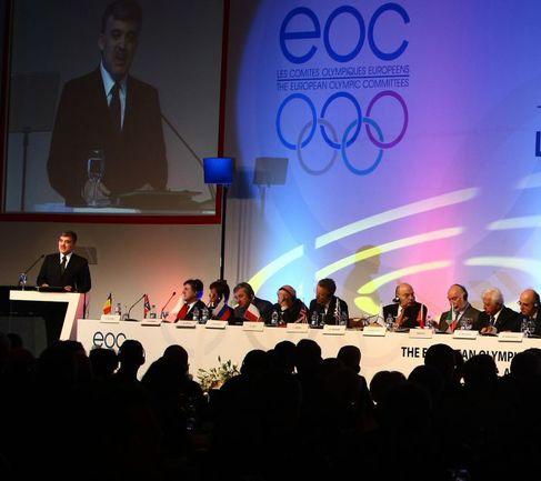 Генеральная ассамблея ЕОК. Фото AFP