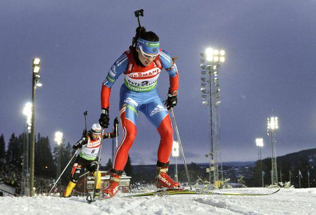 Сегодня. Эстерсунд. Светлана СЛЕПЦОВА. Фото AFP