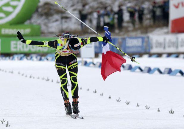 Лидер общего зачета Кубка мира Мартен ФУРКАД выиграл в Швеции две гонки из трех. Фото REUTERS