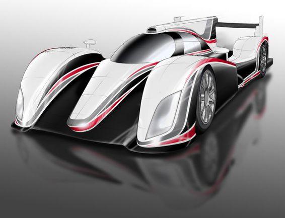 """Поговаривают, что первый спортпрототип """"Тойота"""" уже готов - но публике пока демонстрируют лишь эскизы. Фото """"СЭ"""""""