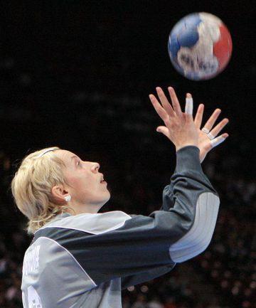 """Мария Сидорова:  """"Мы отлично разобрали игру испанок"""" Фото AFP"""