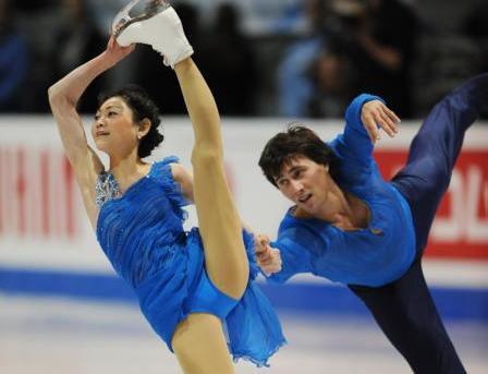 Юко КАВАГУТИ и Александр СМИРНОВ. Фото AFP