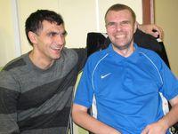 Суббота. Владимир ГАБУЛОВ и Вениамин МАНДРЫКИН. Фото Александра МАРТАНОВА.