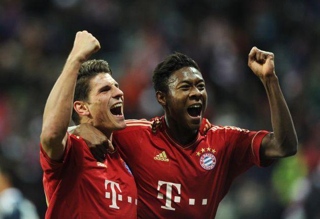 """""""Бавария"""" благодаря победе над """"Кельном"""" стала осенним чемпионом Германии. Фото AFP"""