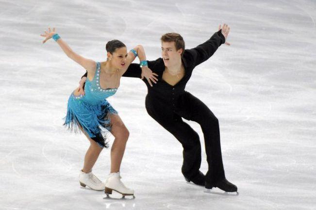 Елена ИЛЬИНЫХ и Никита КАЦАЛАПОВ. Фото AFP