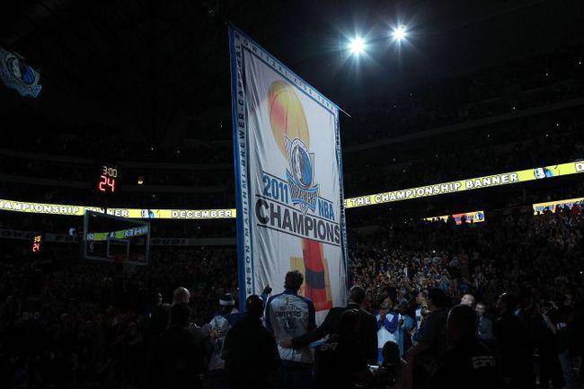 """Сегодня. Даллас. """"Даллас"""" - """"Майами"""" - 94:105. Церемония открытия сезона в Техасе. Фото AFP"""