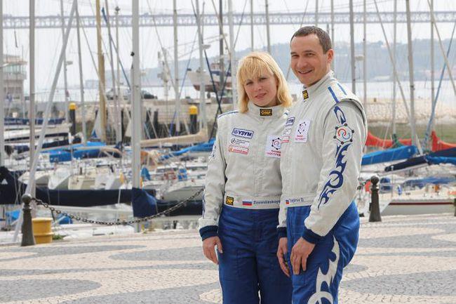 """В 2011 году на счету Дмитрия и Анны - 21 гонка в 9 странах мира. Фото """"СЭ"""""""