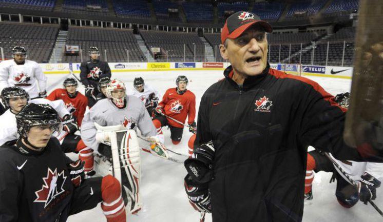 Молодежная сборная Канады готовится к чемпионату мира, на котором постарается вернуть титул. Фото REUTERS