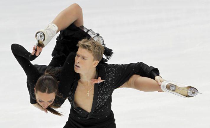 Екатерина РЯЗАНОВА и Илья ТКАЧЕНКО. Фото AFP