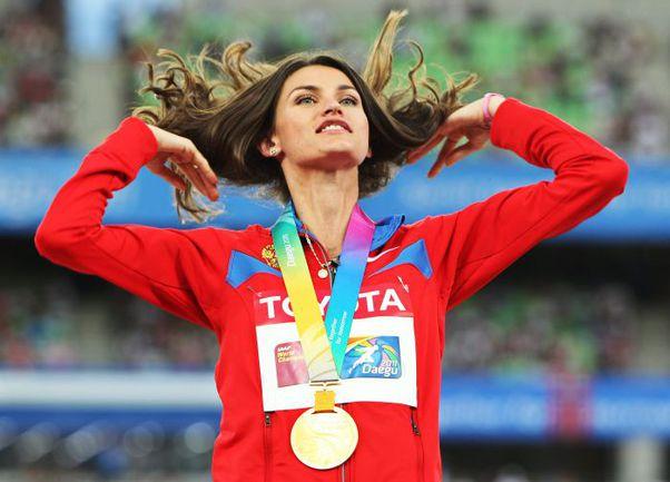Сентябрь стал лучшим месяцем в карьере Анны ЧИЧЕРОВОЙ. Сначала она завоевала золотую медаль на чемпионате мира в Тэгу... Фото AFP