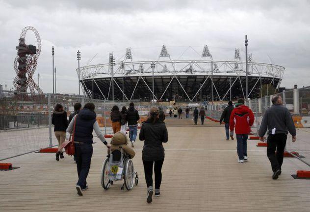 Олимпийский парк в Лондоне. Фото REUTERS
