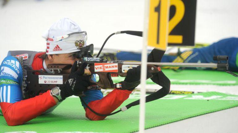 Четверг. Нове-Место. Безупречная стрельба Андрея МАКОВЕЕВА позволила ему выиграть индивидуальную гонку. Фото AFP