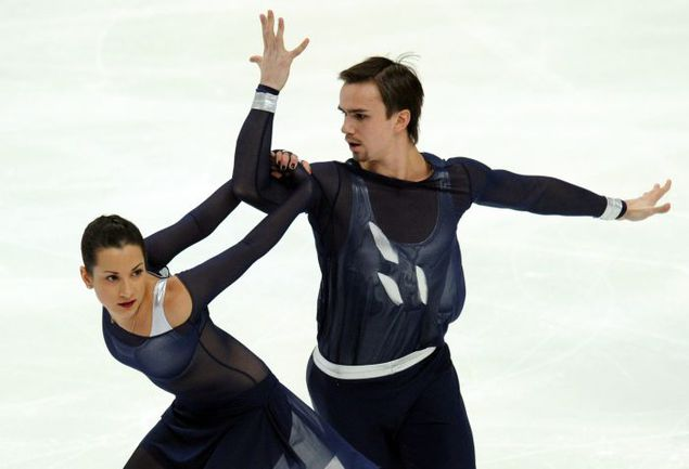 Ксения СТОЛБОВА и Федор КЛИМОВ. Фото AFP