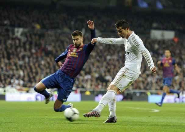 "Среда. Мадрид. ""Реал"" - ""Барселона"" - 1:2. Гол КРИШТИАНУ РОНАЛДУ. Фото AFP"