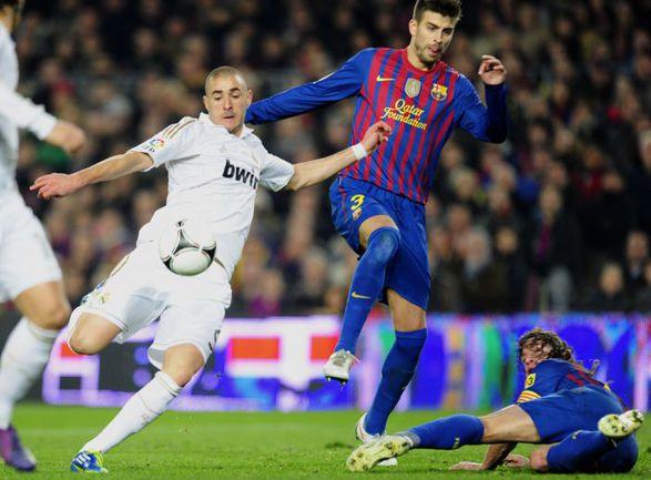 """Вчера. Барселона. """"Барселона"""" - """"Реал"""" - 2:2. 72-я минута. Карим БЕНЗЕМА сравнивает счет в матче. Фото AFP"""