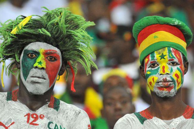 Среда. Бата. Экваториальная Гвинея - Сенегал - 2:1. Болельщики сенегальцев в шоке... Фото AFP
